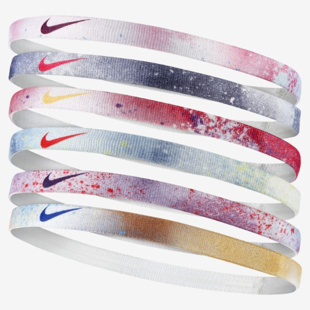 Nike Printed Headbands (6 Pack)  92bb33fb43b