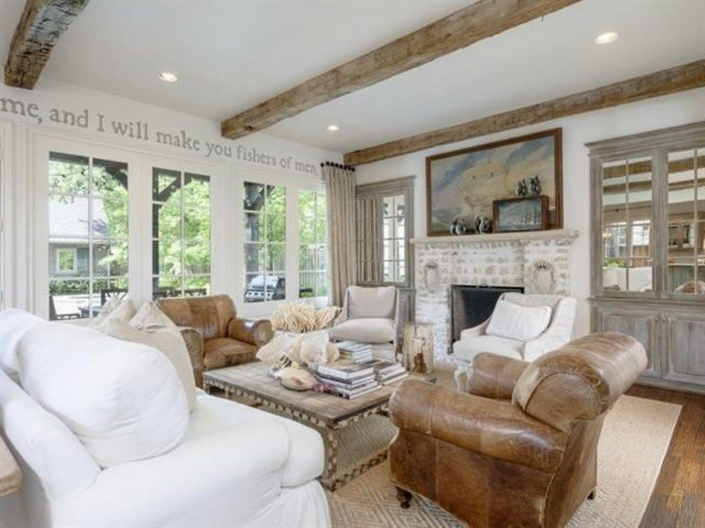 French country living room design ideas (34) | french country ...