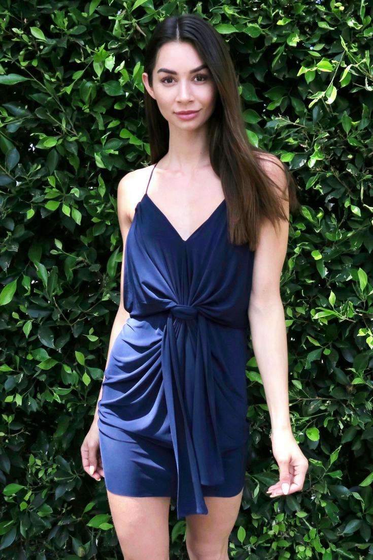 be5b14cb2e Misa domino mini blue dress - summer casual dress #affiliate #fashion  #womenclothes