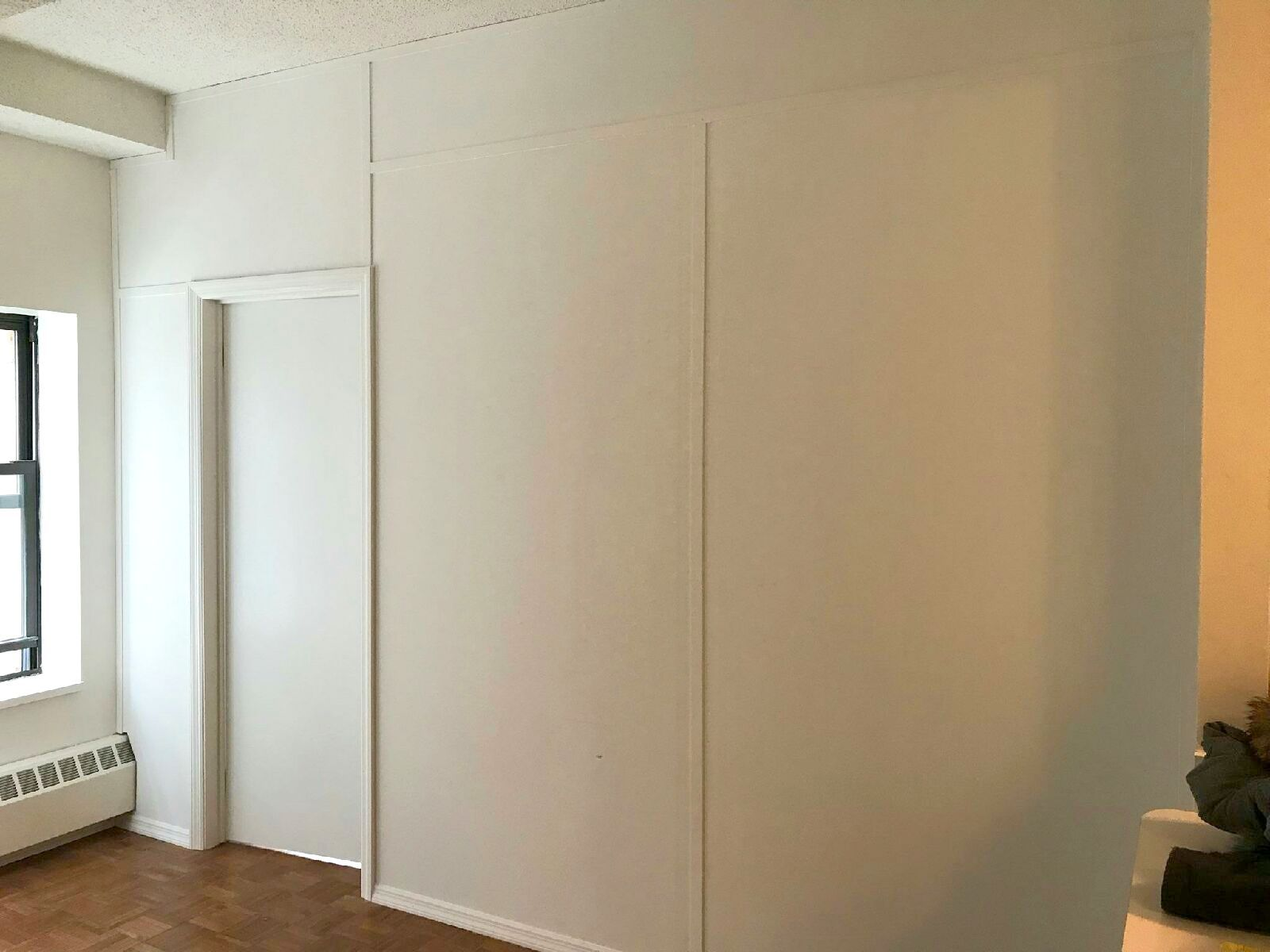 Floor To Ceiling Temporary Wall With Door Call Us For All Your