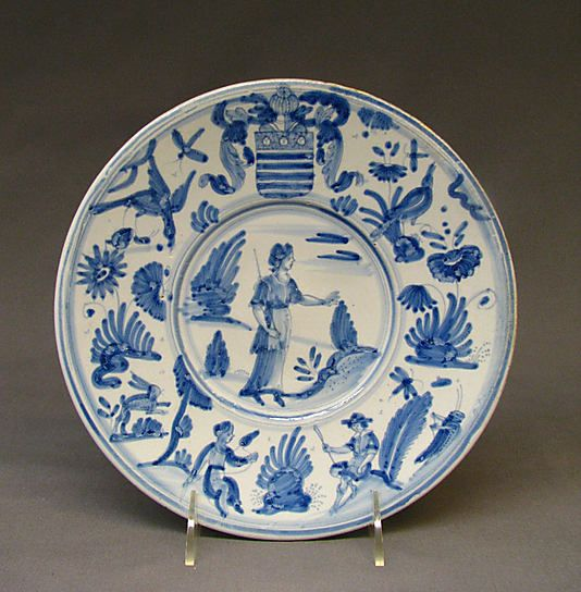 Plate Probably French Nevers The Metropolitan Museum Of Art Plates Antique Porcelain Ceramics