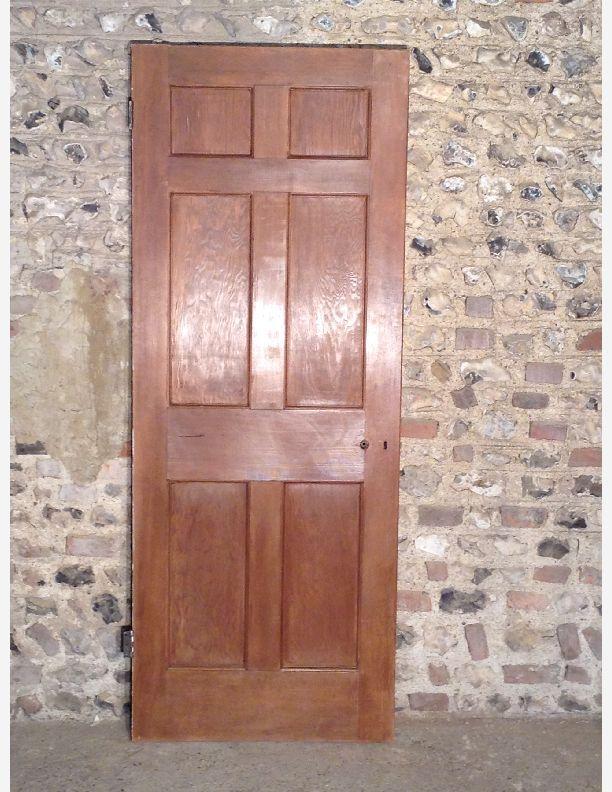 428 Georgian Style 6 Panel Interior Door Historic Doors