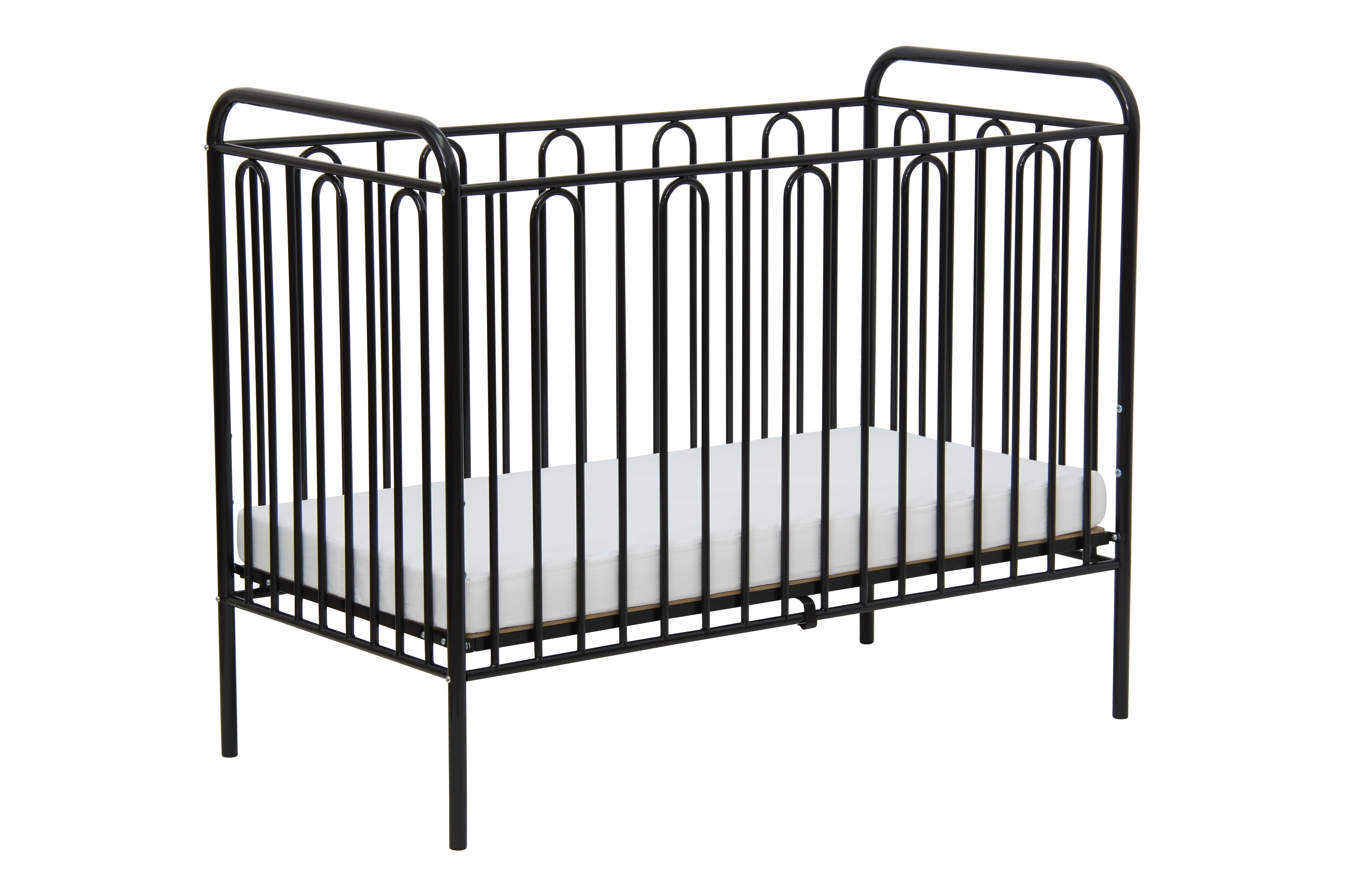 Babybett Gitterbett Kinderbett Aus Metall Polini Vintage