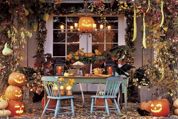 Halloween outdoor beauty Pinterest