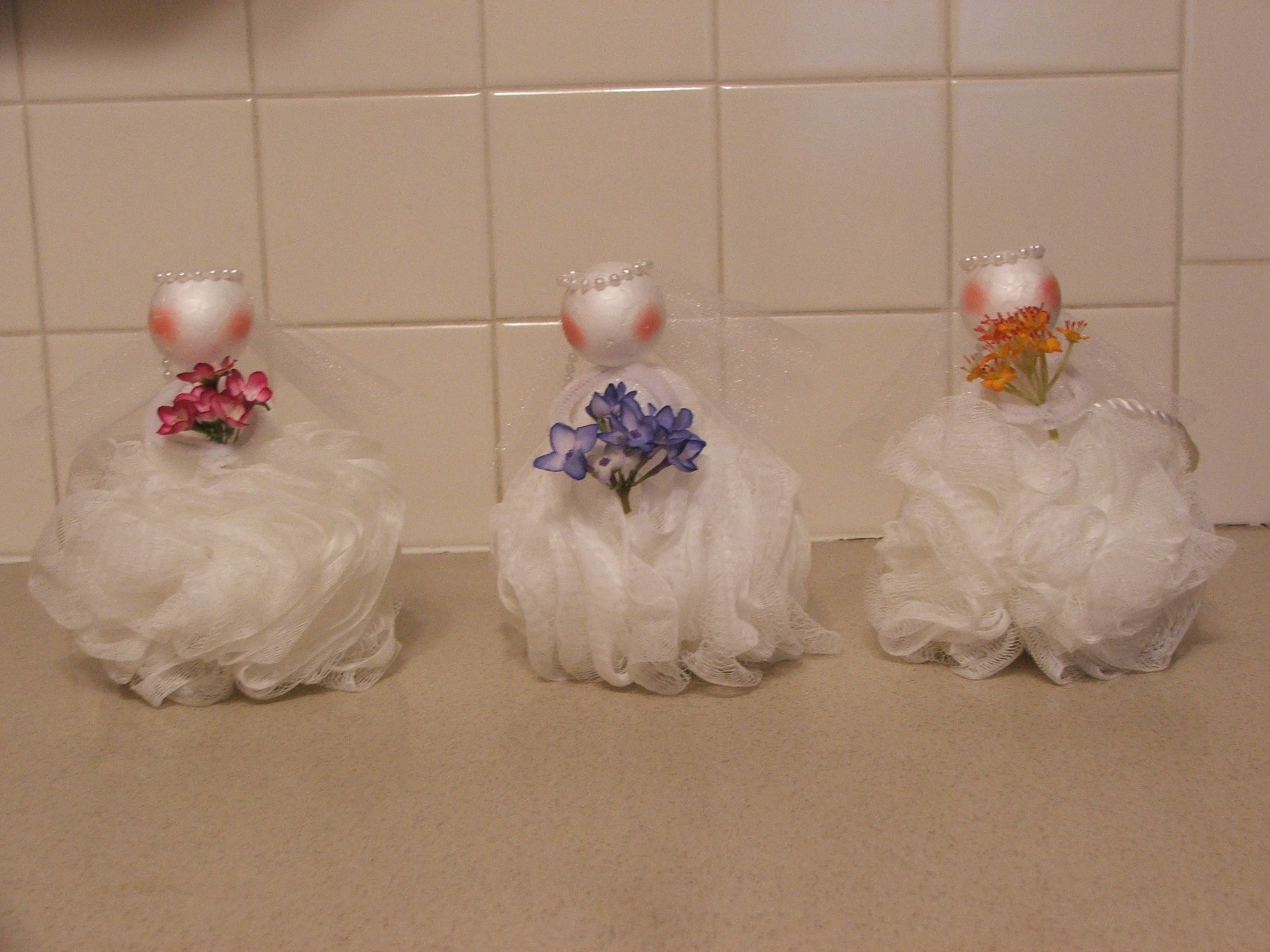 Pinterest Crafts Wedding: Wedding Shower Loofah Party Favor