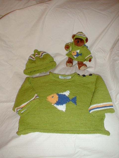 Fishy Sweater