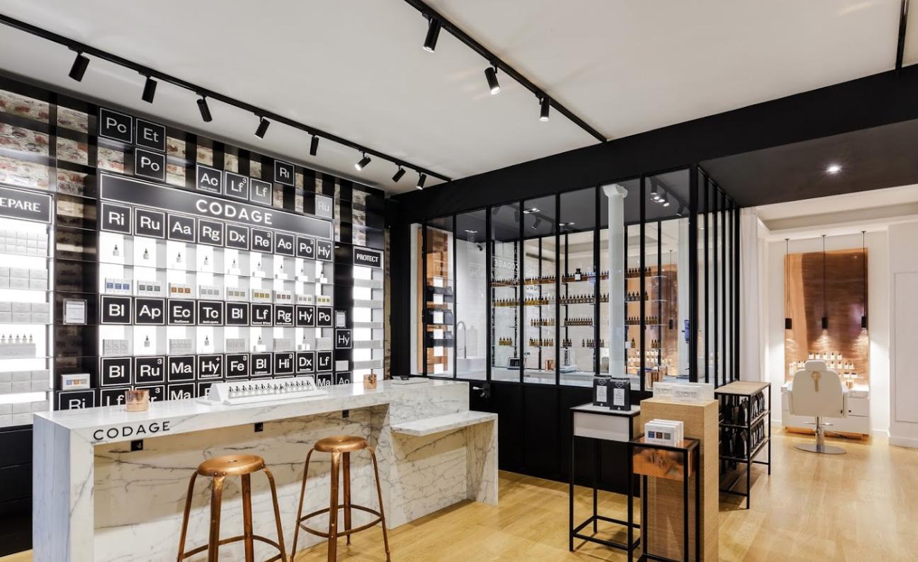 5ed7672dc8 Codage | Beauty Concept Store and Beauty Institute | 8 Rue du Trésor, 75004  Paris