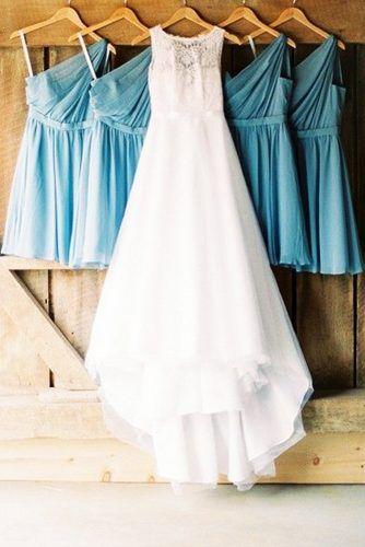 30 Pre-Wedding Shots: Hanging Wedding Dress | Свадебный