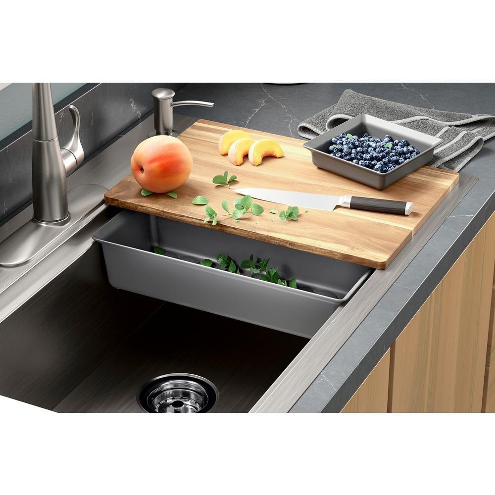 Garden S Edge Kitchen Kohler Ideas Single Bowl Kitchen Sink Undermount Kitchen Sinks Deep Sink Kitchen