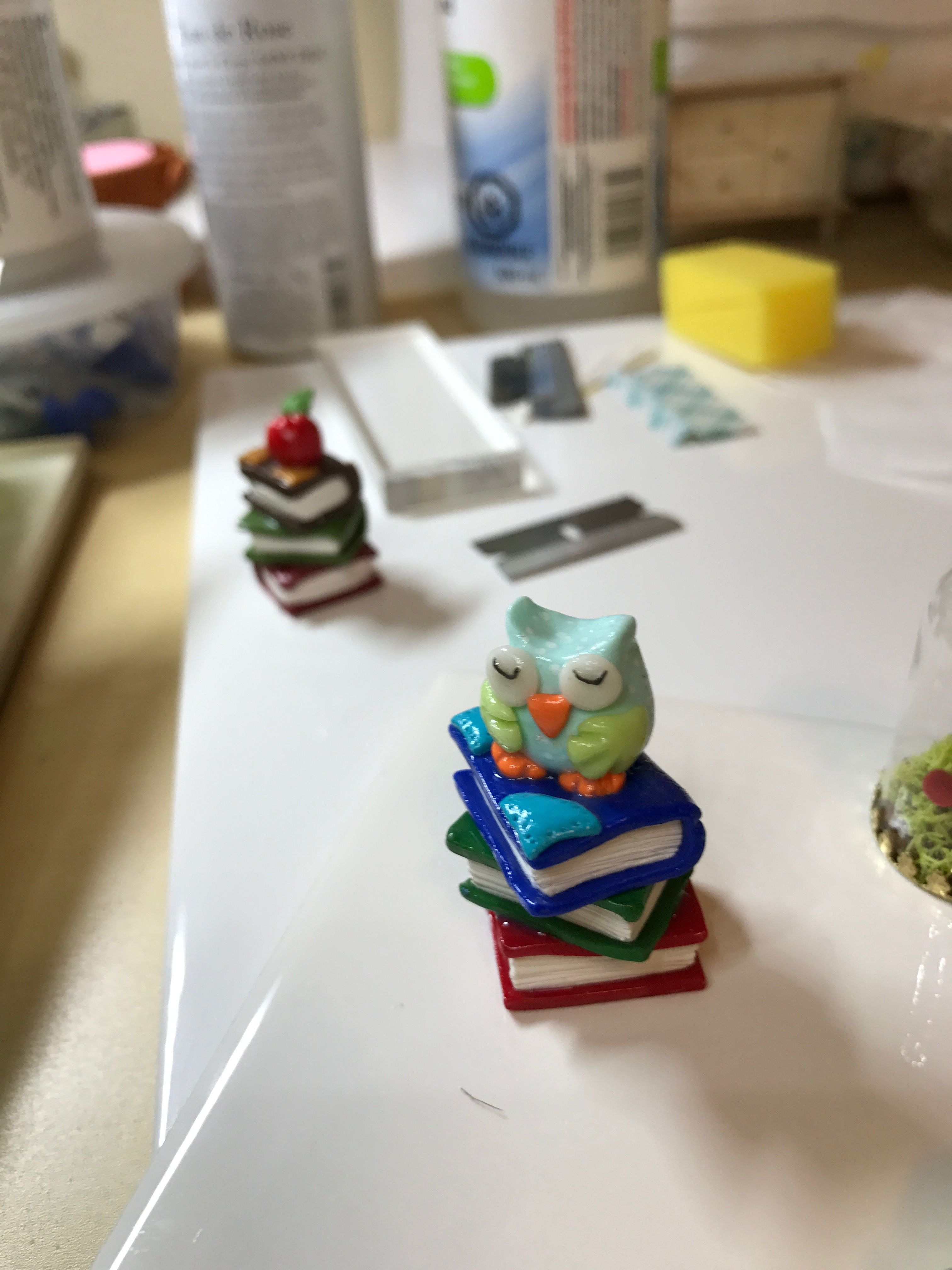 Polymer clay is so fun...I really enjoy making tangible items.