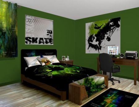 Pokój Dla Chłopca W Mocnych Kolorach Inspiracje Madziof Pl Blue Bedroom