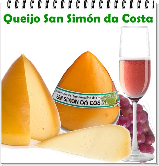 QUEIJO:  San Simón da Costa ITALIA:Galícia LEITE: vaca CL ASSIFICAÇÃO: Semimacio