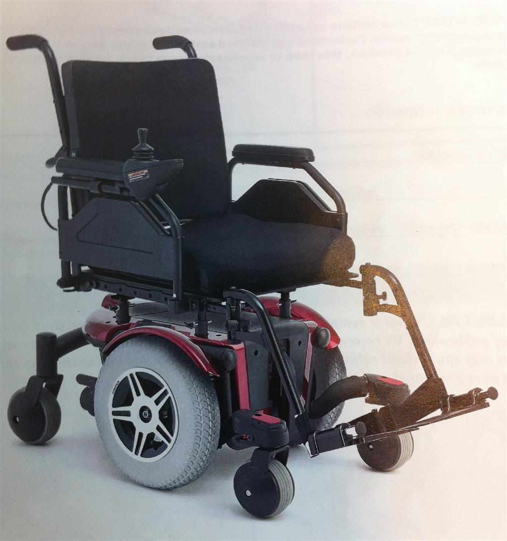 Pink electric wheelchair - Quantum 600 2hp Power Wheelchair Wheel Chair