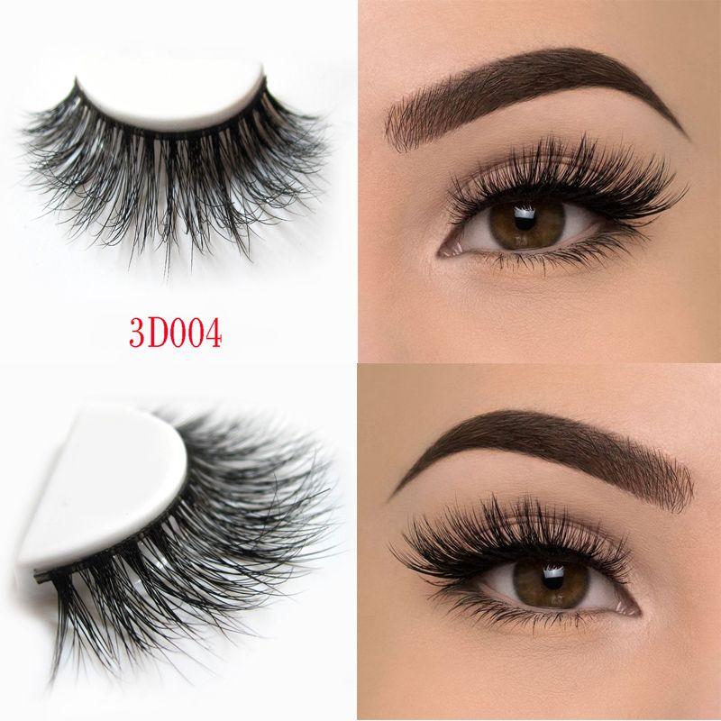 Arison Lashes Beauty Mink Eyelashes 3d Mink False Eyelashes Messy