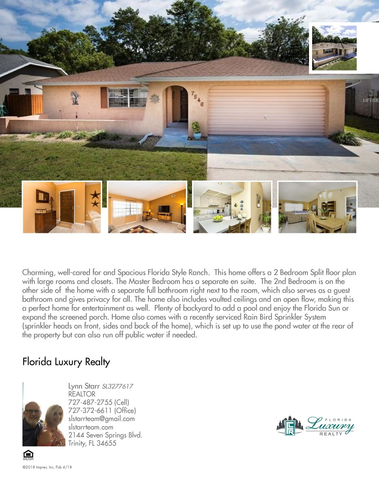 **Seller authorized to include a one-year home warranty ...