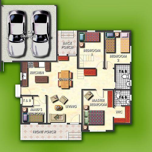 Juniper model house of Savannah Crest Iloilo by Camella Homes ...