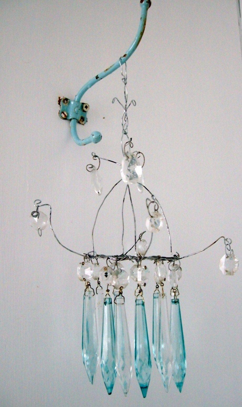 Diy mini chandelier repurposed pinterest mini chandelier diy mini chandelier arubaitofo Images
