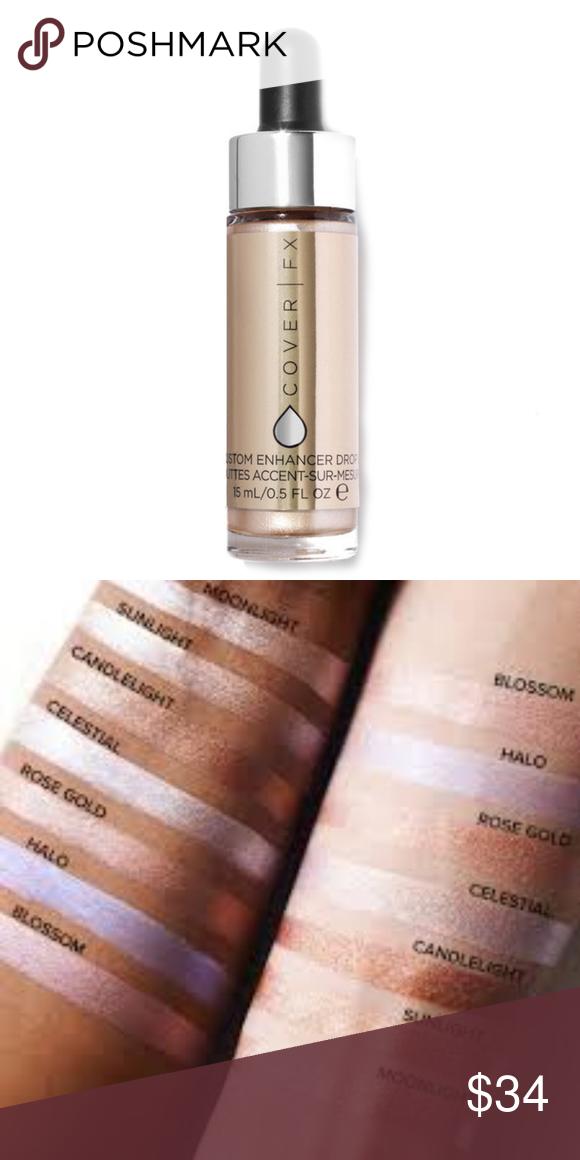 Cover Fx Custom Enhancer Drops Celestial Cover Fx Highlighter And Bronzer Cover Fx Makeup