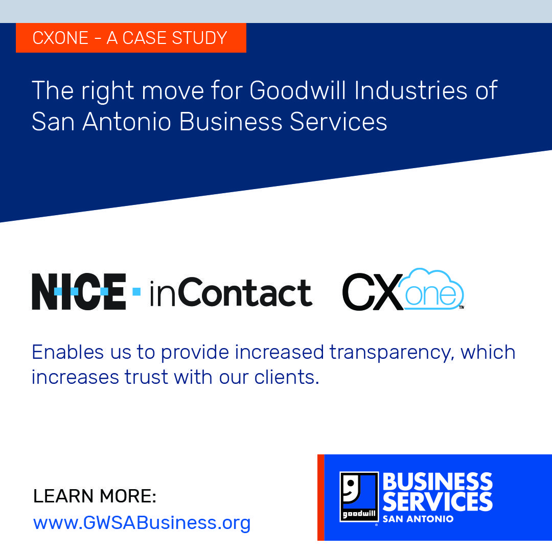 Goodwill business services contact center in 2020 case