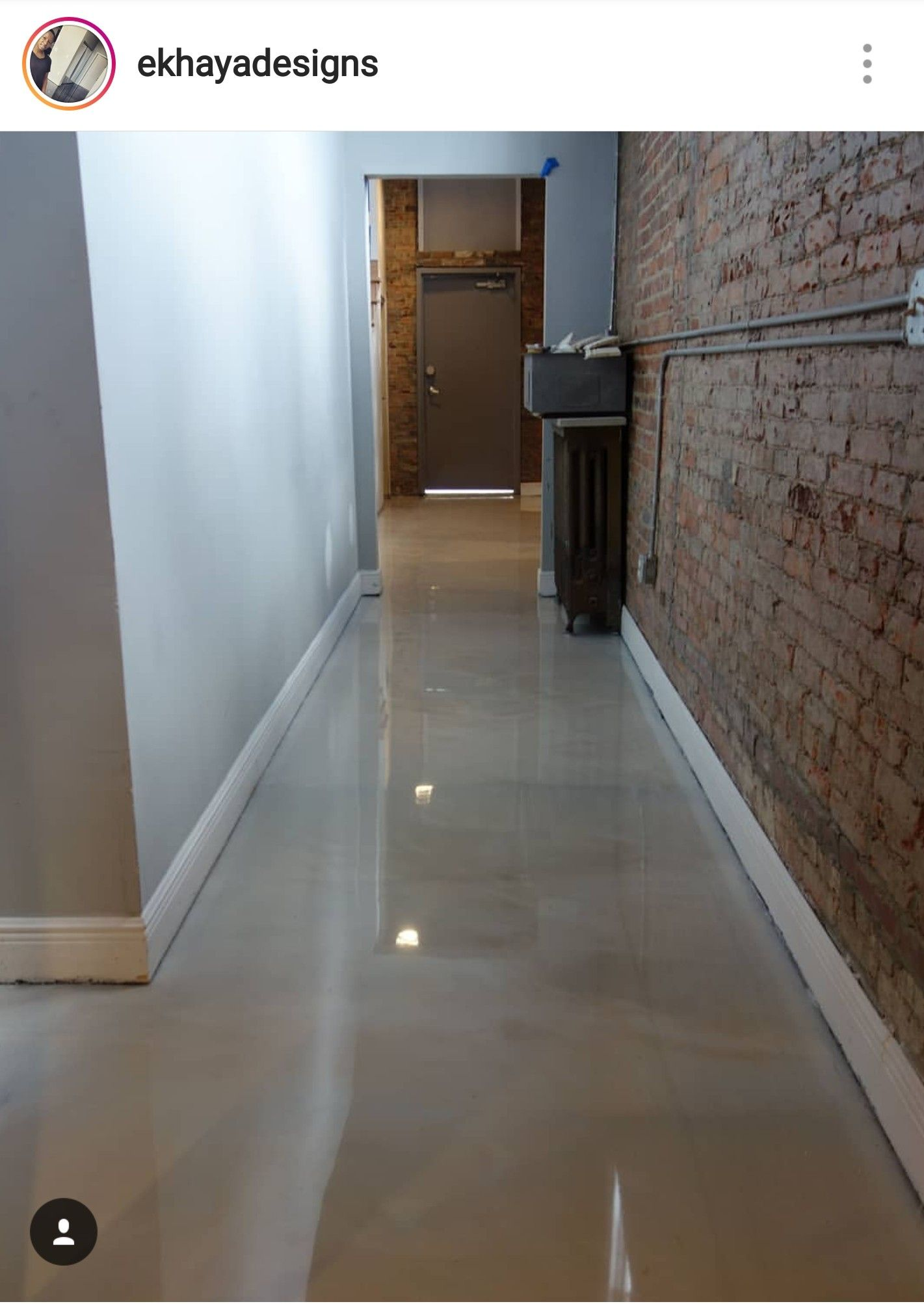 Epoxy Flooring Is Becoming A Trend But It Has Been Around For A Long Time Is Been Used In Hospitals Fire Houses Air Epoxy Floor House Fire Types Of Flooring