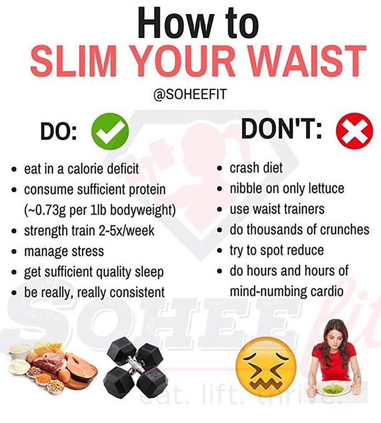 A Trainer Breaks Down the Dos and Don'ts of Slimming Your Waist