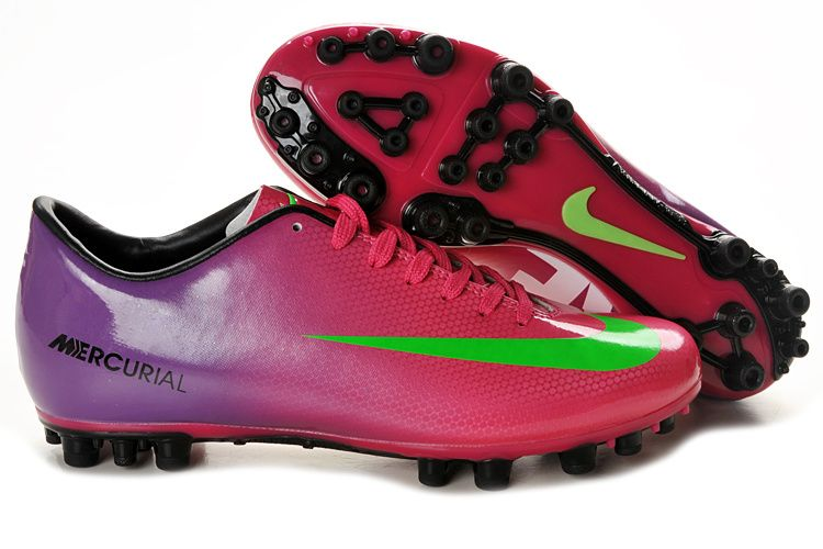 Latest Listing Discount Nike Mercurial Vapor IX AG Shoes Red Green Purple Soccer  Boots On Sale