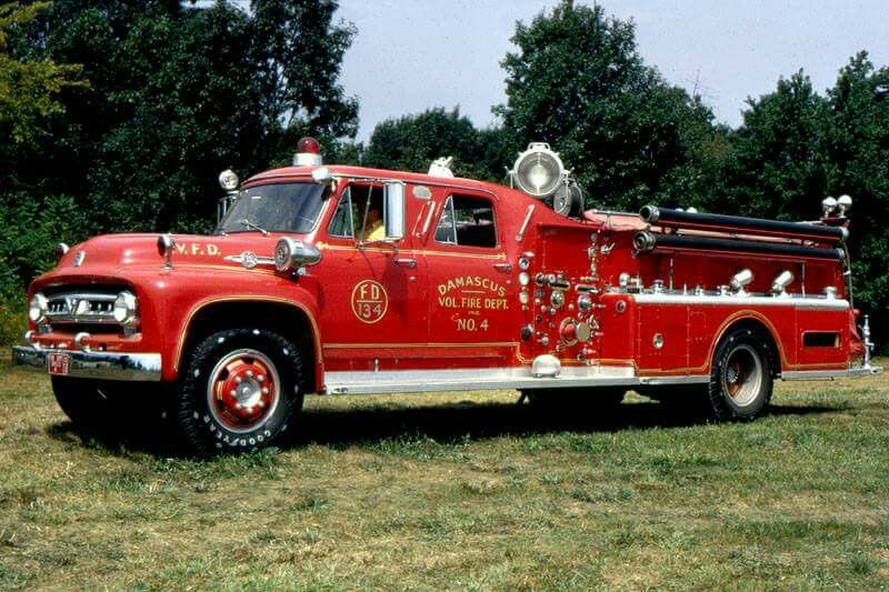 Pin by Doug Brooks on Old fire trucks Trucks, Fire