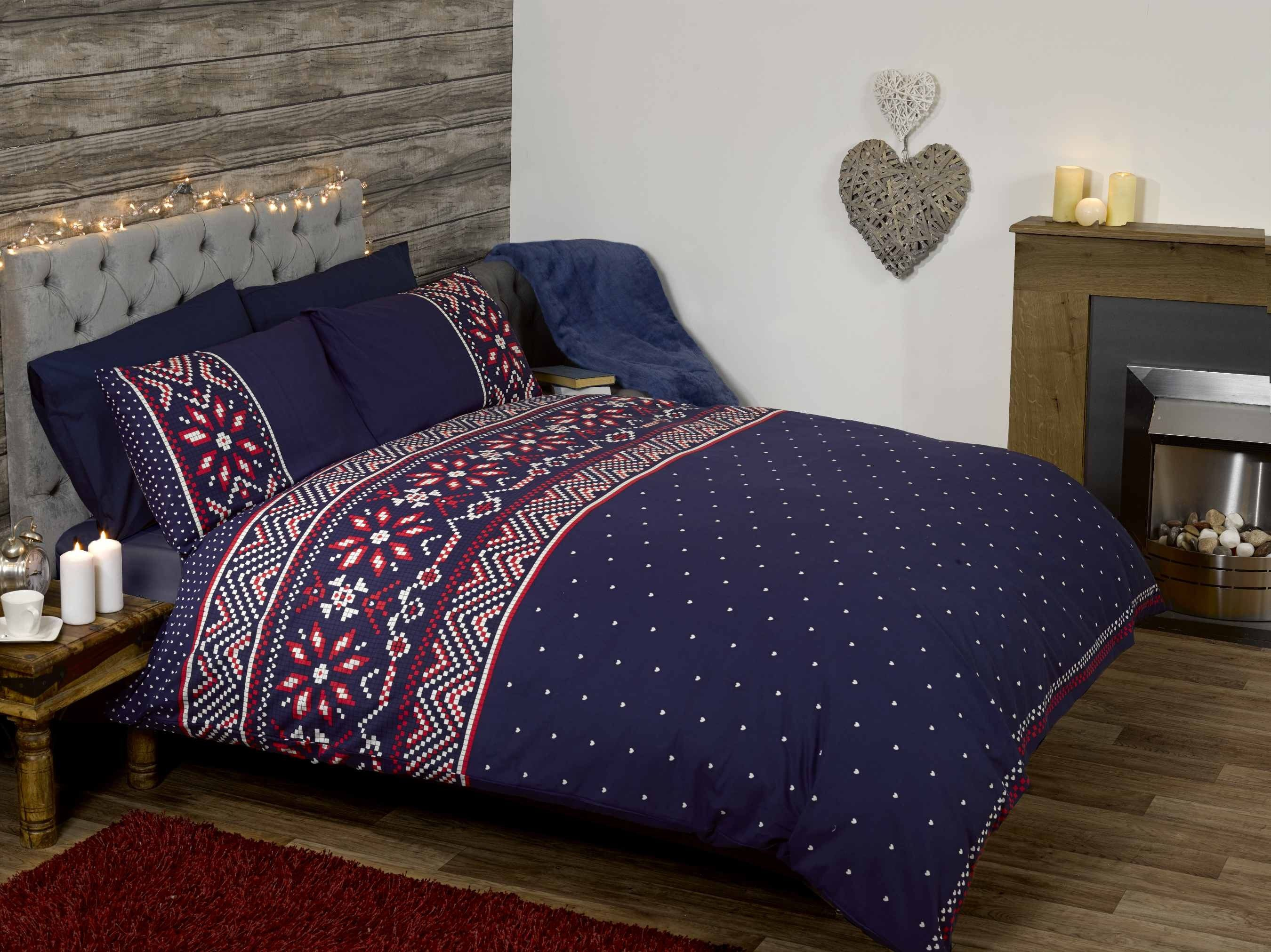 best bedding images on pinterest  bedroom ideas  beds and  - nordic snowflake  duvet cover