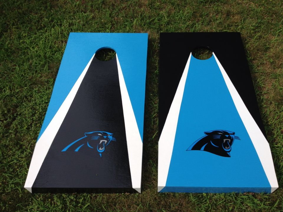 Custom Carolina Panthers Cornhole Boards By Marty S Carolina