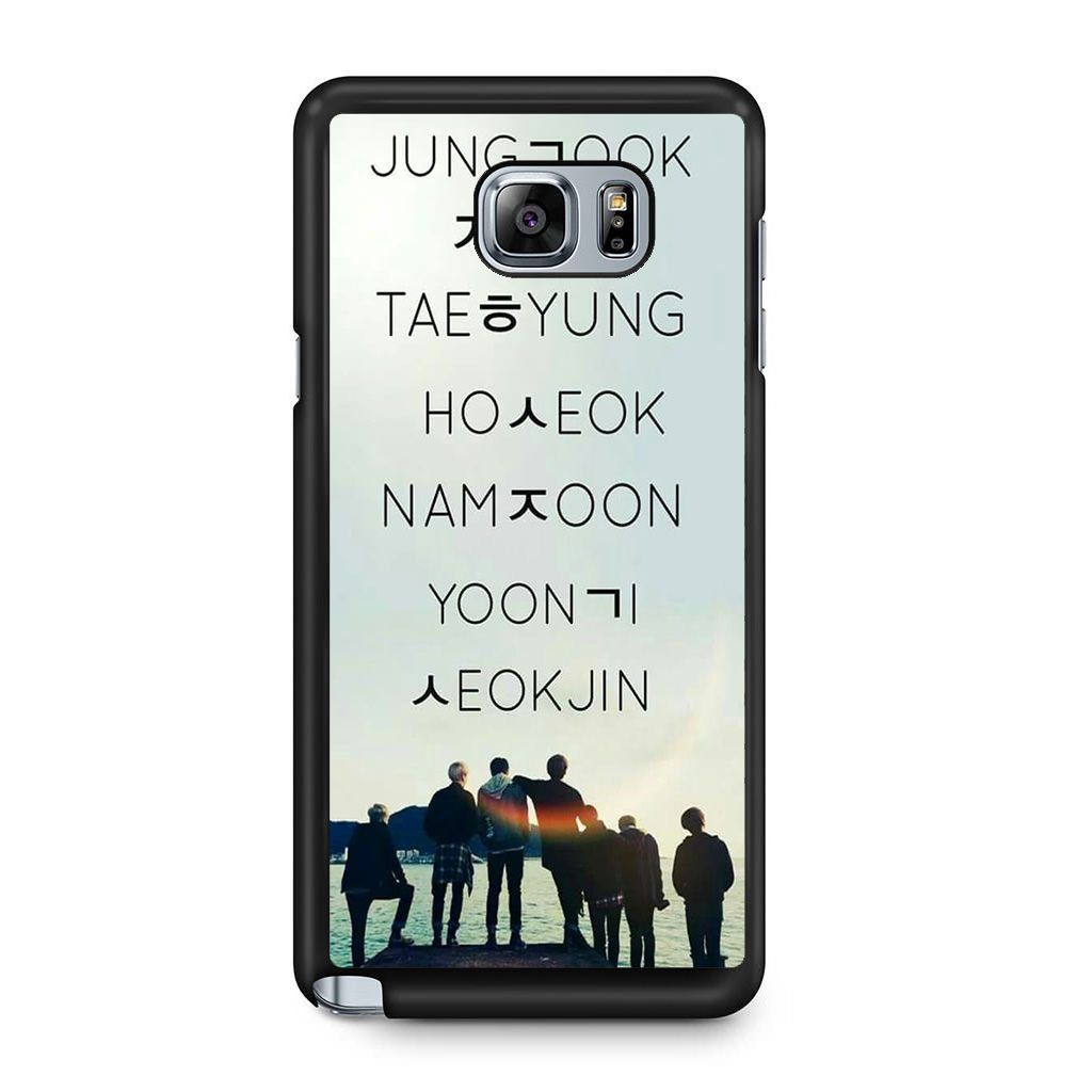 premium selection 63156 c2c1d BTS You Never Walk Alone For Samsung Galaxy Note 5 Case | ❤❤BTS ...