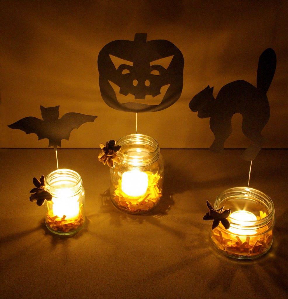 halloween deko basteln windlichter k rbis katze fledermaus anleitung diy fertig 2 herbst. Black Bedroom Furniture Sets. Home Design Ideas