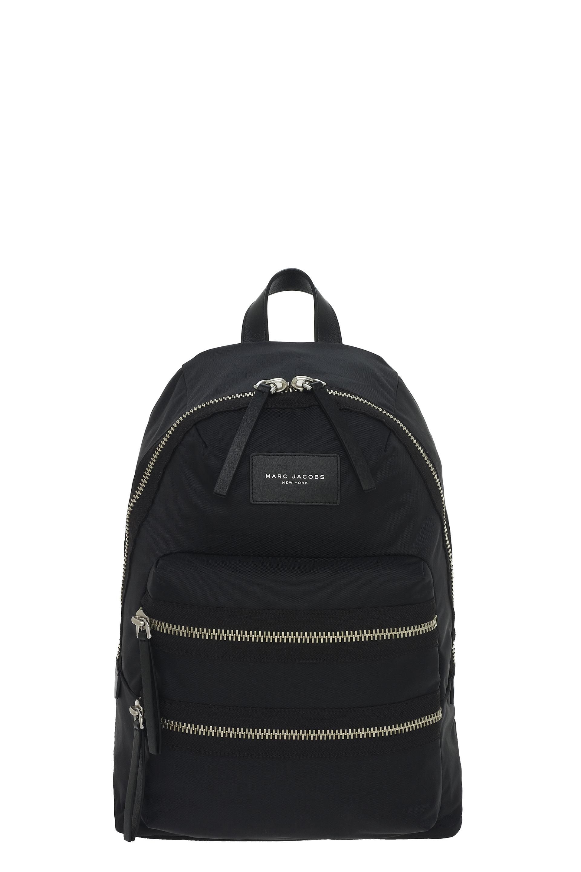 Under 50 Dollars badge detail backpack - Black Marc Jacobs Outlet Best Place Free Shipping Sneakernews XWf5Sz6h