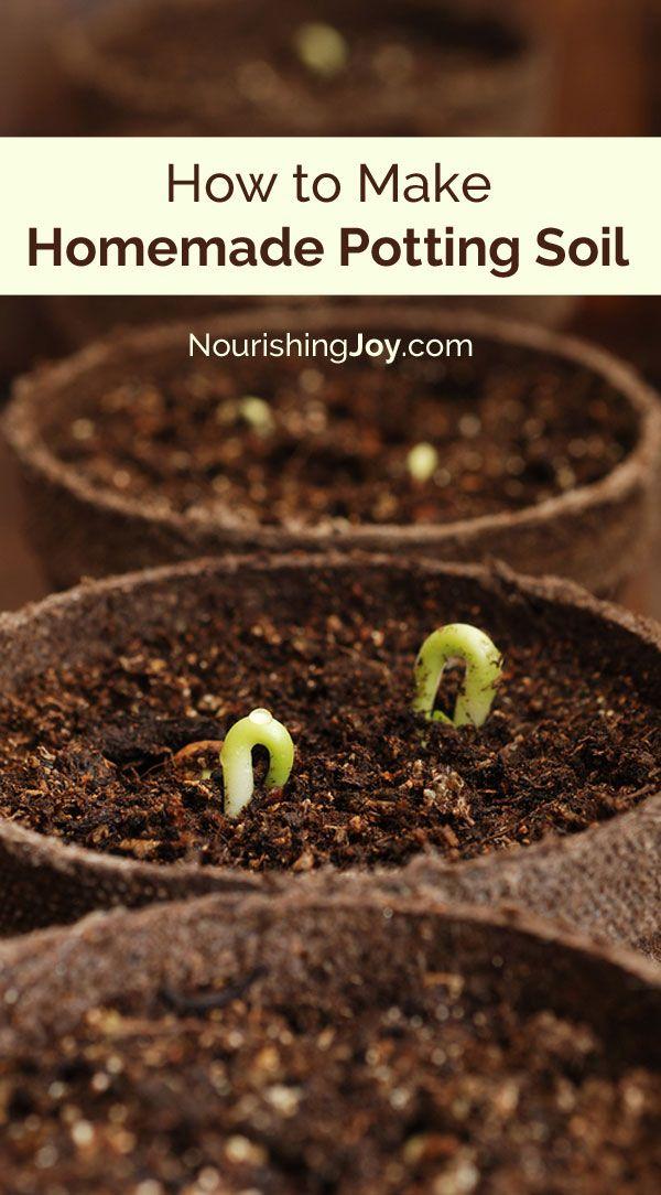 How To Make Homemade Potting Soil Garden Plants