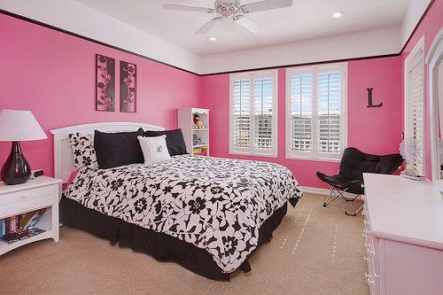 26 Adorable Pink Bedroom Ideas Pink Bedroom Walls Pink Bedrooms