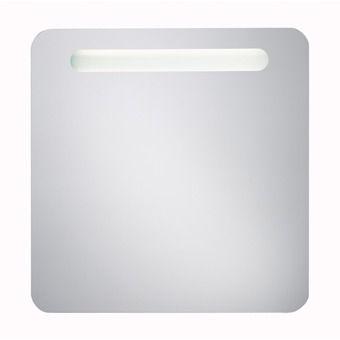 Plieger spiegel met verlichting met afgeronde hoeken 60x80cm PL ...