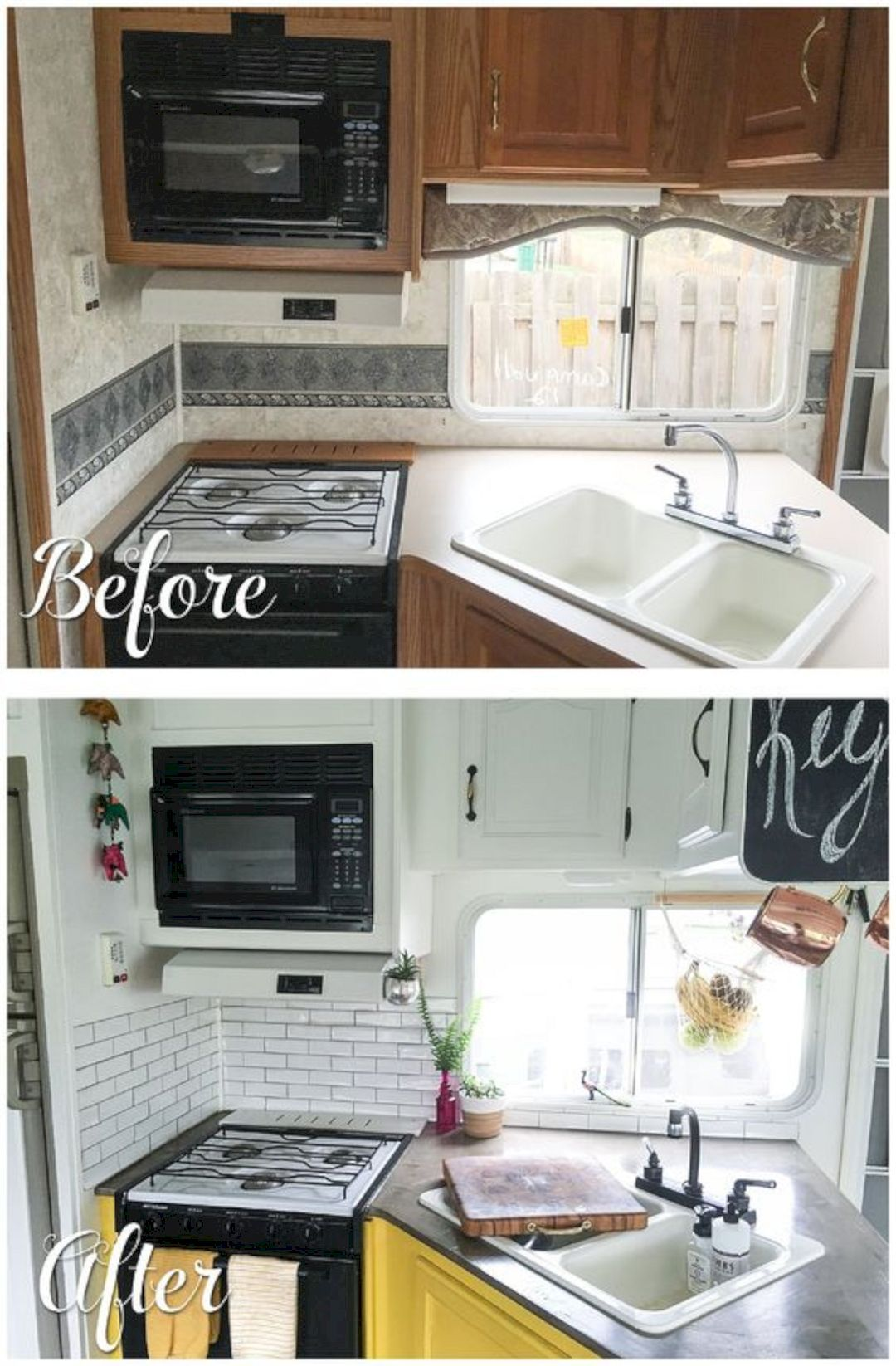 15 Awesome Camper Renovation Ideas For a Happy Camper Life | Camper on travel trailer blinds and shades, travel trailer furniture, travel trailer floor plans, travel trailers shabby chic, cool rv interior ideas, rv decorating ideas, travel trailer super lightweight, travel trailer tiny house, personal watercraft interior ideas, travel trailer paint schemes, travel trailer decor, modern mobile home interior ideas, manufactured home interior ideas, travel trailer crafts, travel trailer custom interiors, diy rv skirting ideas, auto interior ideas, travel trailer sofas reclining, yurt interior ideas, rv renovation ideas,