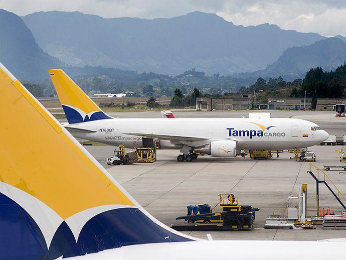 Tampa Cargo B767 Freighter Passenger Jet Cargo Airlines Boeing