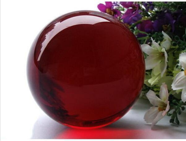 $0 99 - 40Mm Hot Sell Natural Obsidian Polished Red Crystal