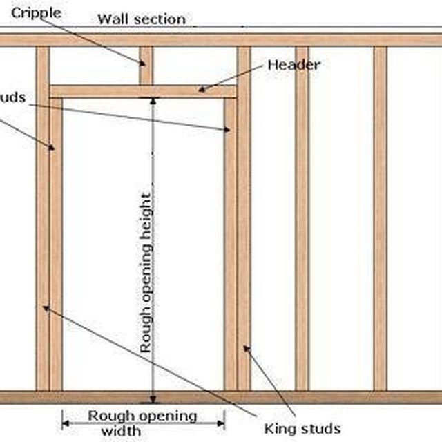 building a door frame from scratch. Black Bedroom Furniture Sets. Home Design Ideas