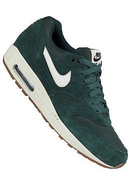 new concept 74599 92fc9 NIKE SPORTSWEAR Air Max 1 Essential - Sneakers for Men - Green ...