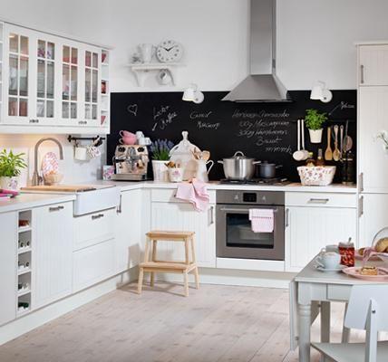 Einrichtungsideen kleine wohnküche  Einrichtungsideen für die Küche - Küchenplanung und Dekoideen ...