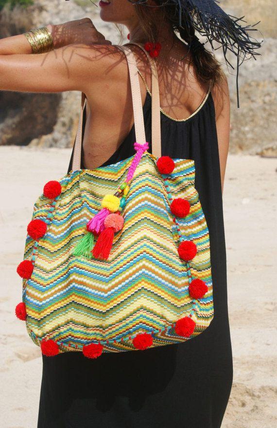 Resultado de imagen de bolsos de playa originales