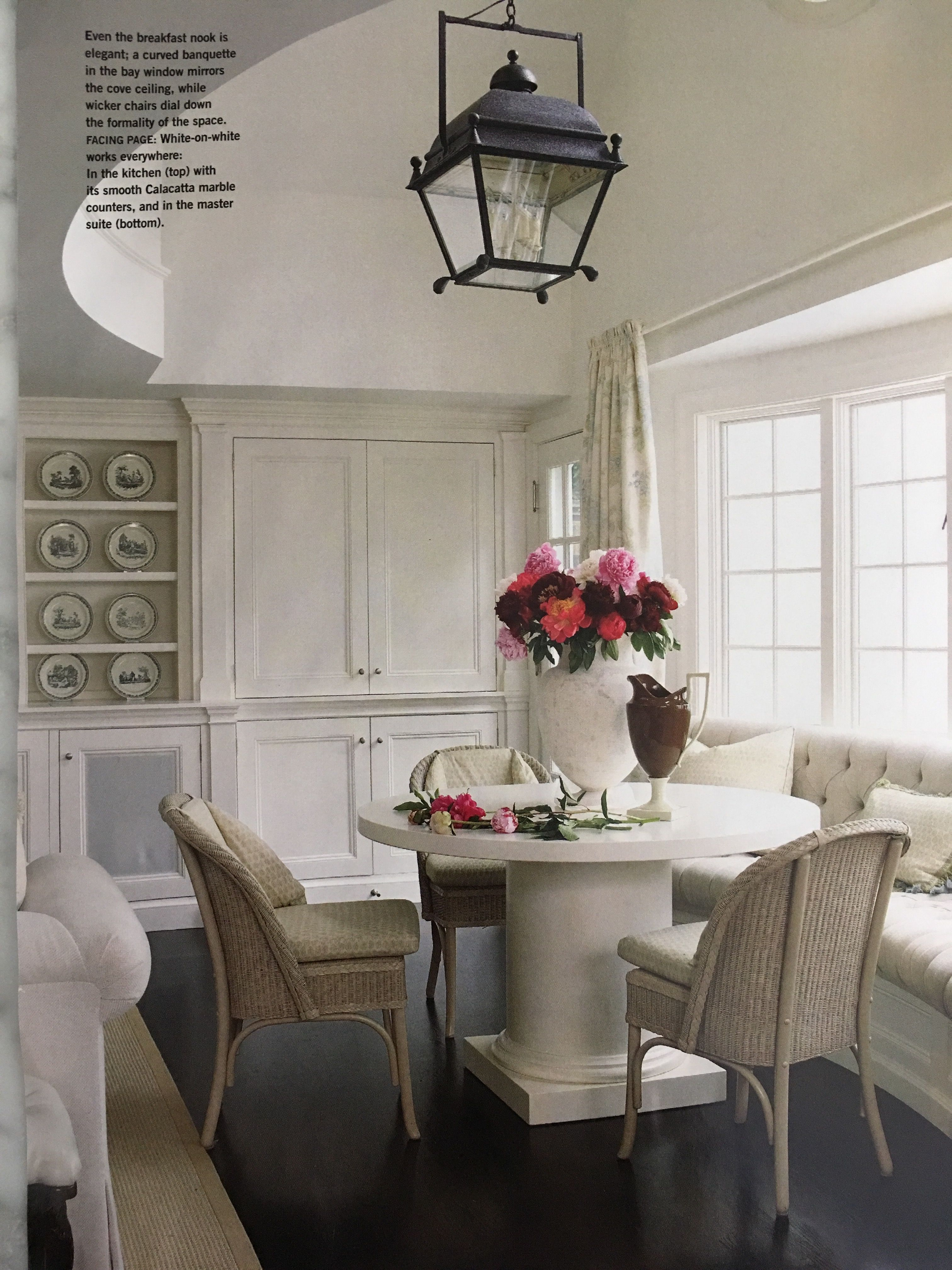 Pin Kate Coughlin Interiors On Dining Room Pinterest Room Jpg 3024x4032  Banquette White Curves