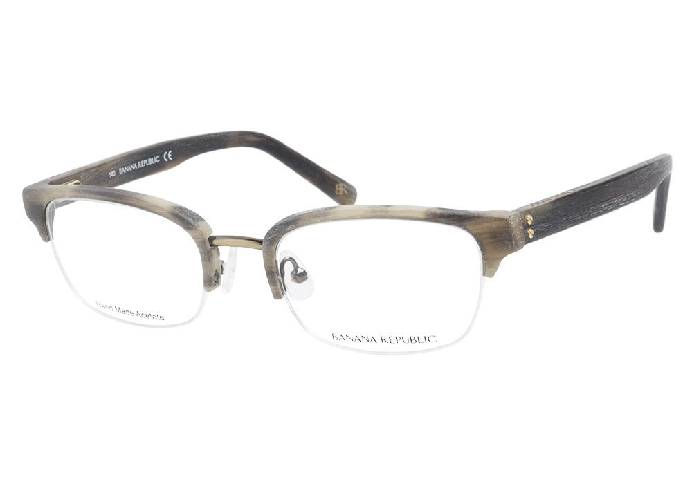 Banana Republic Addison JHX Brown Horn eyeglasses are sure to appeal ...