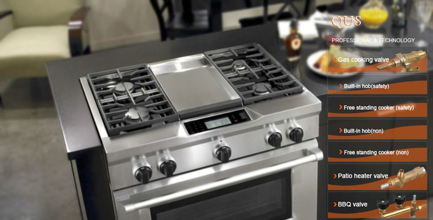 Gas Valves Oven Valves Stove Valves China Manufacturer