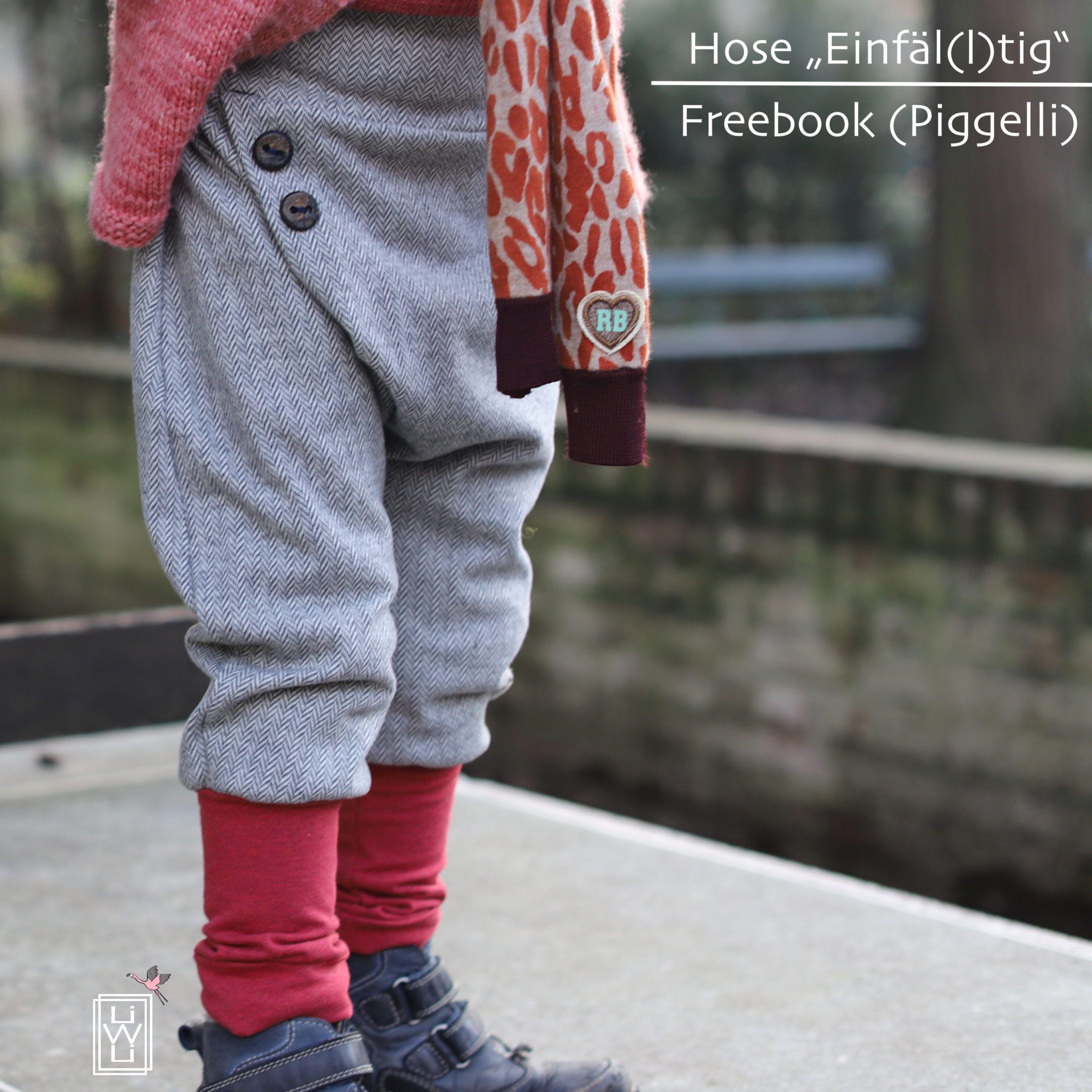 Neues Jahr – neue Knickerbocker (nach Freebook von Piggelli) / Variationen – Lila wie Liebe