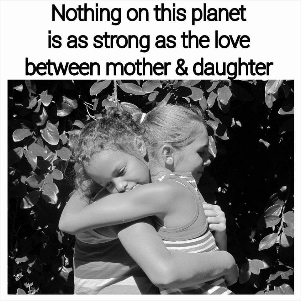 Mother And Daughter Meme Love Animals I Love My Daughter To My