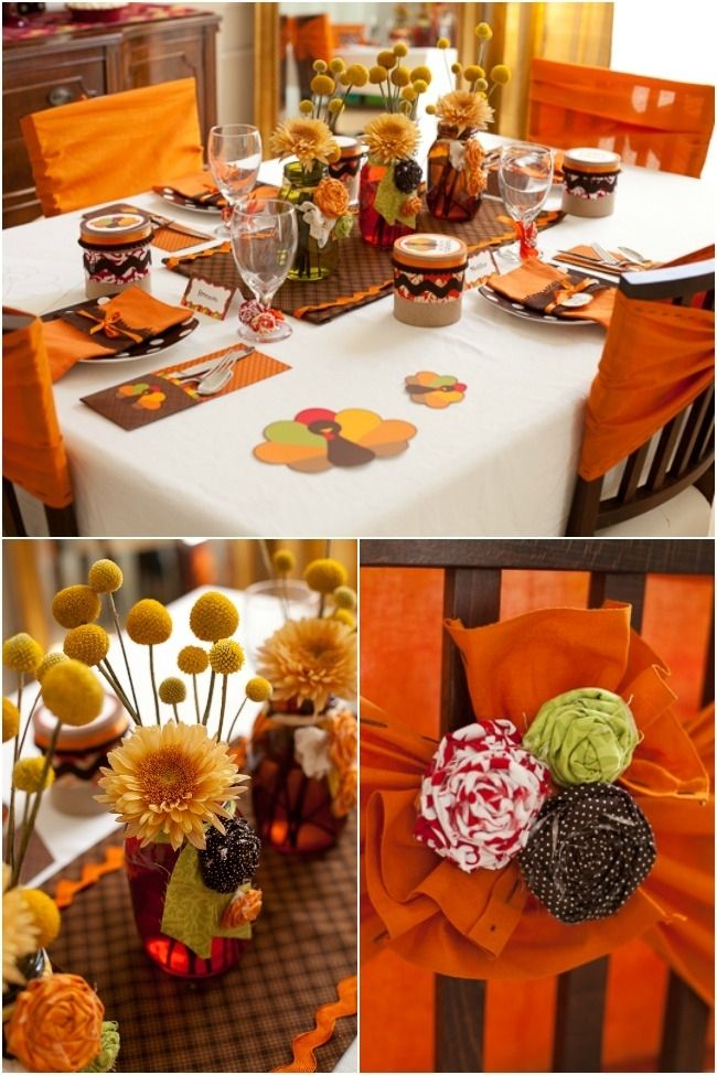 Gorgeous Decorations For Thanksgiving Kids Table Thanksgiving