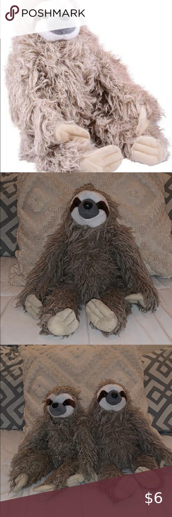 Sloth Stuffed Animal in 2020 Sloth stuffed animal, Sloth