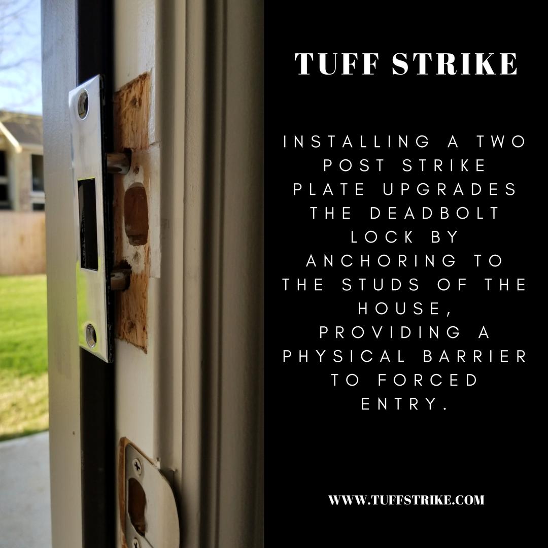 Installing a Two Post Strike Plate by TUFF STRIKE
